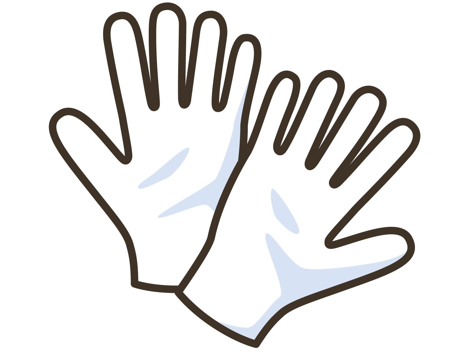 コロナウイルス対策で別の効果が現れる?使い捨て手袋の着用